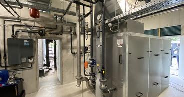 Biomasseheizwerk Schwadorf