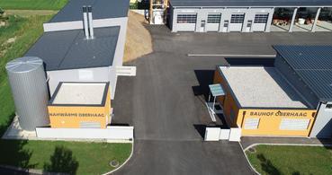 Biomasseheizwerk Oberhaag