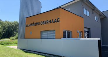 Biomassehizwerk und Bauhof Oberhaag